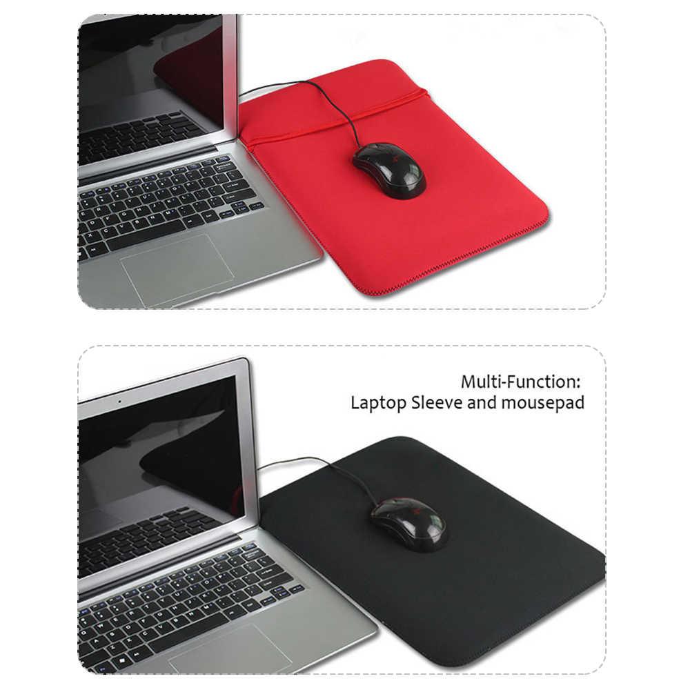 """Ipad の 7/8/9/9.7/10/12/13/14/15/ """"インチ耐震性のラップトップスリーブとマウスパッドラップトップノートブック、タブレットスリーブケース Capa"""