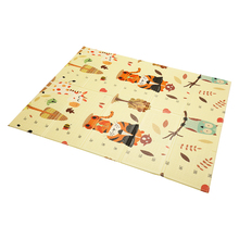 180*200cm Xpe Puzzle Infant Baby Foldable Play Double-sided Mat Thickened Home Baby Room Splicing Child Climbing Mat kids gifts