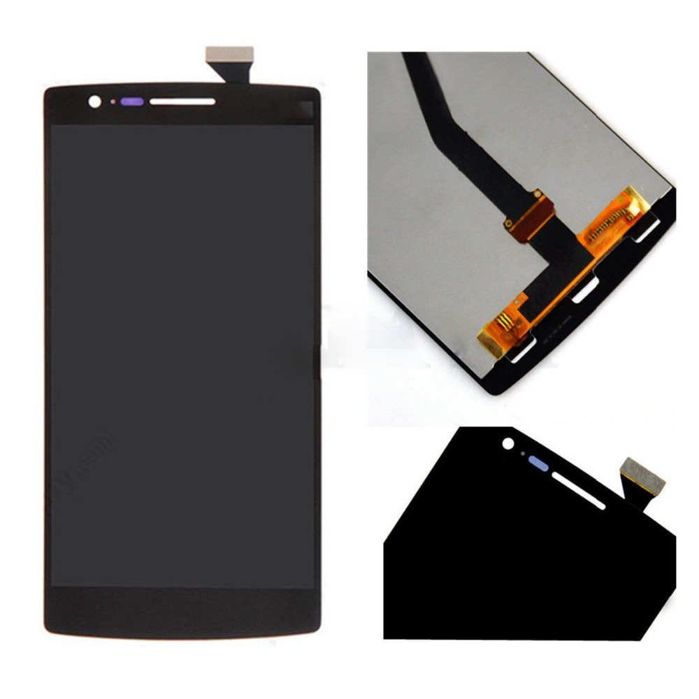 ФОТО 100% warranty for OPPO Oneplus One 1+ lcd display with touch screen digitizer assembly one plus by free shipping