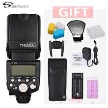Yongnuo radio de 2,4G YN560Li, flash de zapata superior universal para Canon, Nikon, Olympus, flash de litio de hasta 100 metros