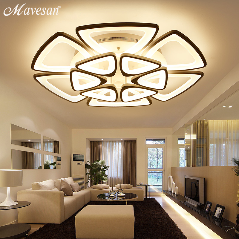 NEW Modern LED Chandeliers For Living Room bedroom Dining room Fixture Chandelier Ceiling lamp Dimming home lighting luminarias modern led chandeliers ceiling for dining room living room bedroom home decoration iron wood indoor lamp lighting fixture design