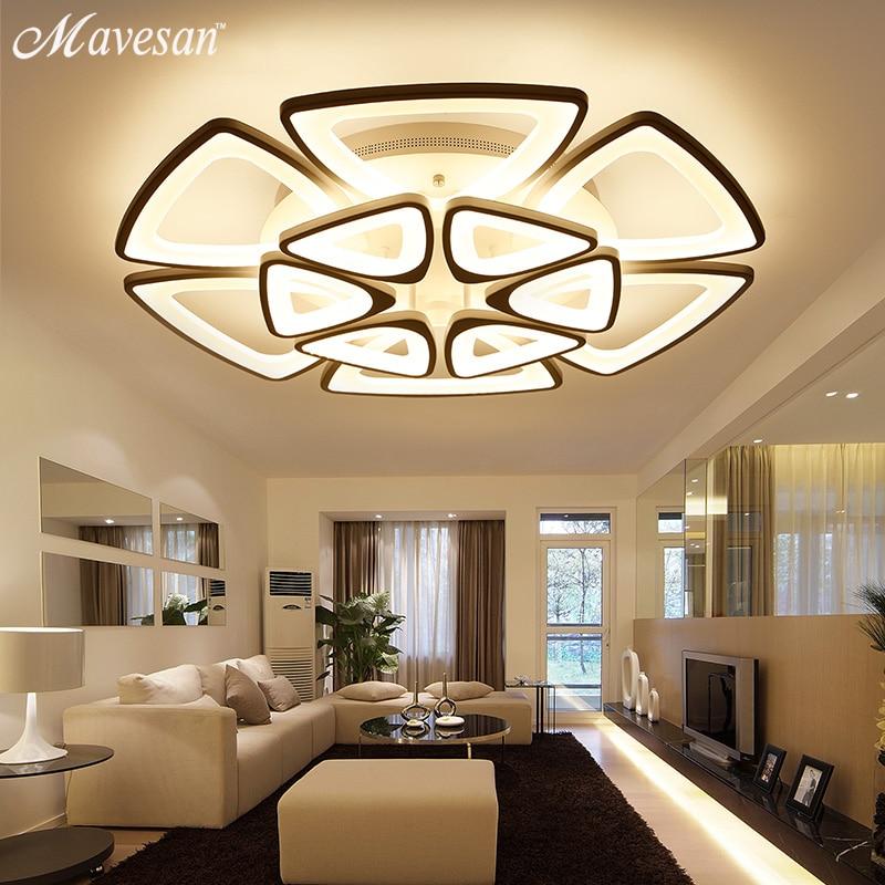 Nouveaux Lustres Modernes Pour Salon Chambre Salle Manger Luminaire