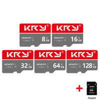 Micro SD Karte Class10 TF karte 32 GB 64 GB 8 GB 16 GB 128 GB Speicher Karte 128 64 32 16 8 GB Für Samrtphone Und Tabelle PC Adapter Reader