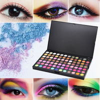 168 colors / set long lasting eye shadow palette makeup eye sequins nude color eyeshadow matte eye shadow makeup tools