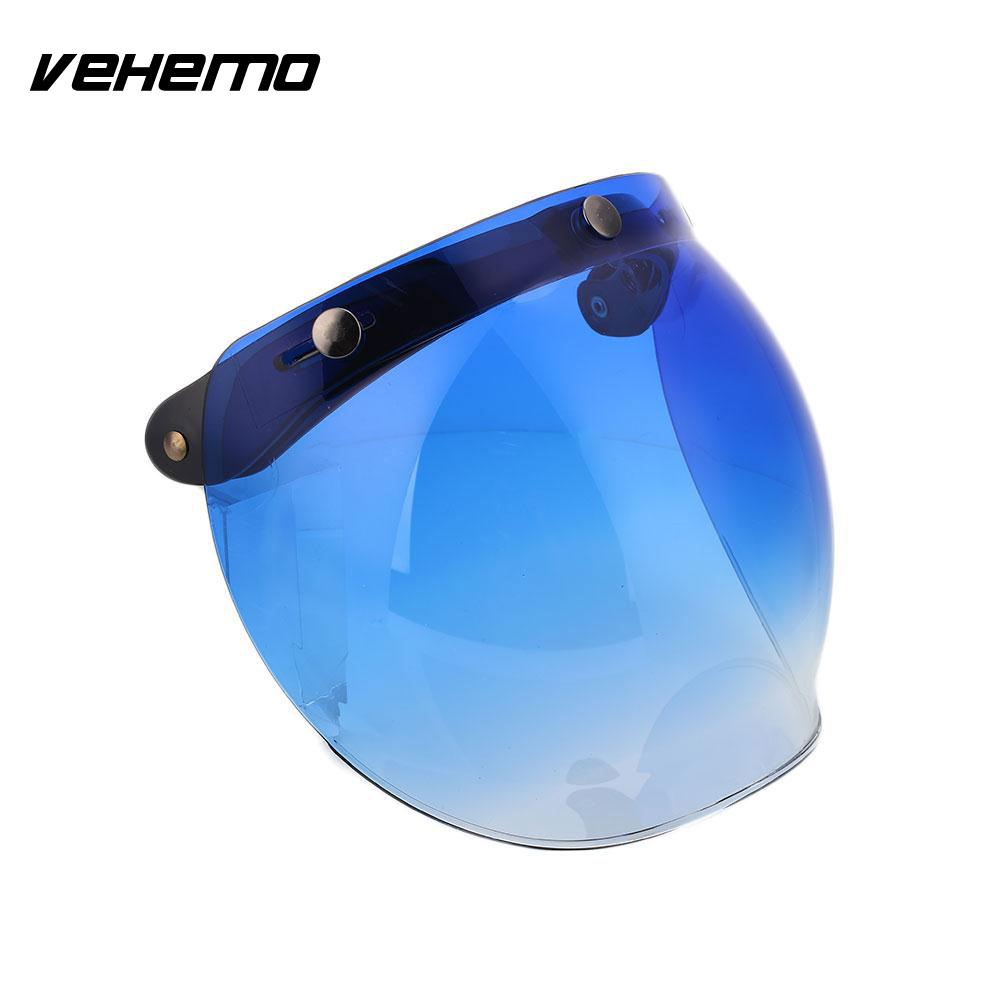 Motorcycle Helmet Shield Mirror Lens Flip UP Down Eye Face Wind Lens Base Safety