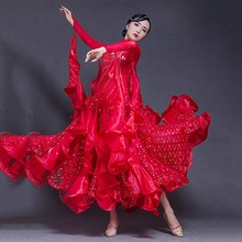 Top Sale Women Ballroom Dance Competition Dresses High Elasticity Dance Clothing Fashion Dresses Dance Ballroom