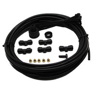 DIY 7mWatering Irrigation Sprayers CE Low Pressure Misting Kit System With Brass Nozzles