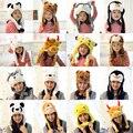 Pikachu Anime animal bonito brinquedos dos miúdos chapéu e cap tab crianças do jardim de infância de neve palco família Chao cap babys brinquedos