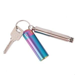 Image 5 - Tiartisan Titan stift unterschrift 2 in 1 mini tragbare outdoor ultraleicht buch schreiben stift