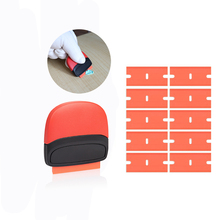 EHDIS Vinyl Wrap Foil Film Razor Scraper Plastic Blades Household Cleaning Tool Car Glue Remover Squeegee Window Tints