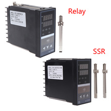 Superb PID Digital Temperature Controller REX-C400 K Input Relay SSR Output Thermostat sestos dual digital pid ac dc 12 24v temperature controller 2 omron relay output d1s