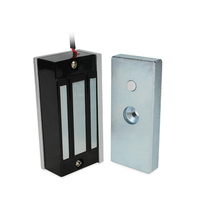 Free shipping 2pcs per pack Access Control Single Door 12V Electric Magnetic Electromagnetic Lock 60KG Holding Force