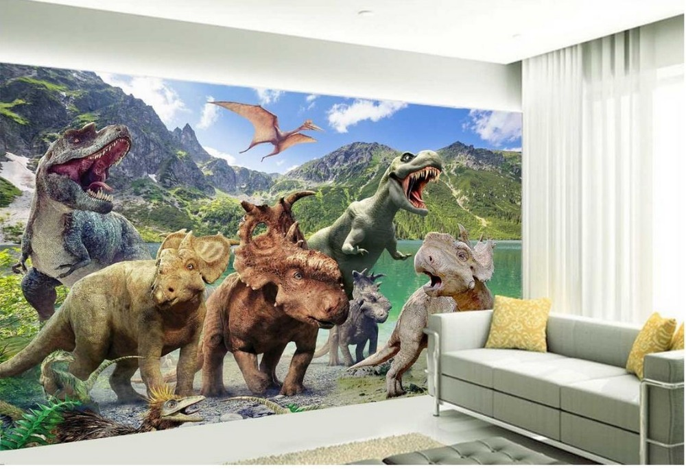 Dinosaur Wall Mural Compare Prices On Online Shopping Buy Low
