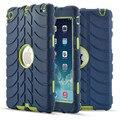 Nueva versión case cubierta protectora resistente a prueba de golpes para ipad mini 1/2/3 seguro soporte 3 en 1 silicone case cubierta