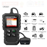 X431 CR3001 auto Full OBD2 OBDII Code Reader Scanner OBD 2 Creader 3001 Car Diagnostic tool PK ELM327 AD310 Scan tool