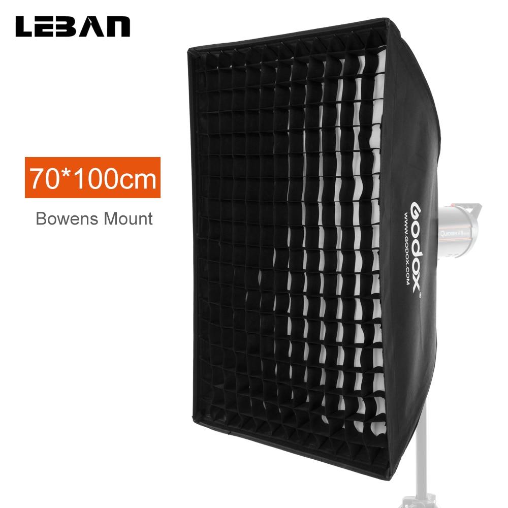 Godox 29 x 39 70x100cm Honeycomb Grid Softbox soft box with Bowens Mount for Studio Strobe