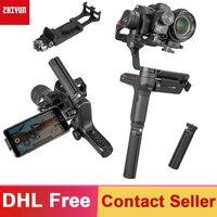 Zhiyun Weebill Lab 3 Axis Handheld Gimbal Stabilizer for Mirrorless Camera Estabilizar Sony A7R3 6300 GH5 PK DJI Ronin S Crane 2