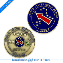 Promotional Metal Fashion Souvenir Coin cheap custom round metal coins with enamel