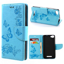 For LG LS 775 case cover beautiful delicate embossing The butterfly flip cover Case sfor LG LS 775 5.7 inch mobile phone cases