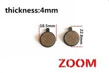 Bicycle Disc Brake Pads for Zoom-5 bicycle Resin Pads Bicycle Brake Disc Pads