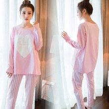 Женские Пижамы Коробки Женщины Пижамы Установить для Женщин Домашняя Одежда Домашняя Одежда Леди Тонкий Милые pijamas Mujer для женщин Пижамы