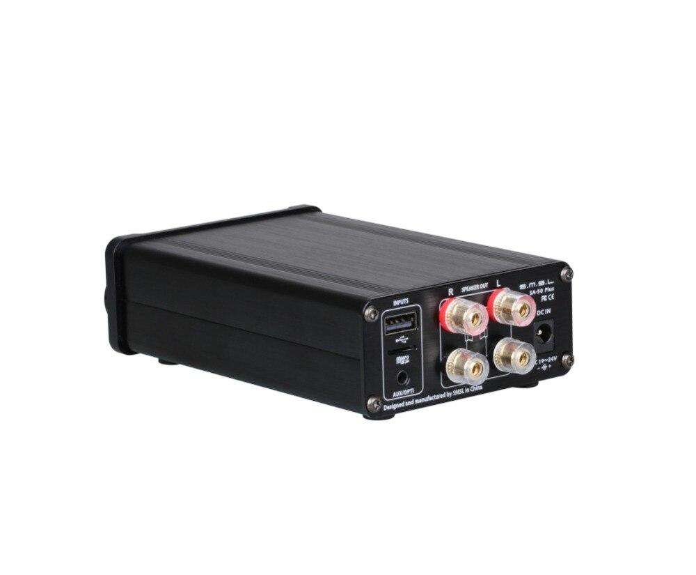 SMSL SA 50 PLUS SA50 AUX USB Mini 50W * 2 Power Digital Verstärker - 4