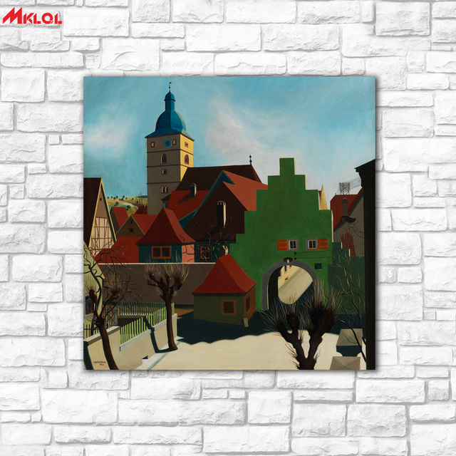 Art Once Upon A Time Oil Painting Wall Picture Paiting Canvas Paints Home Decor Abstract Print Modern