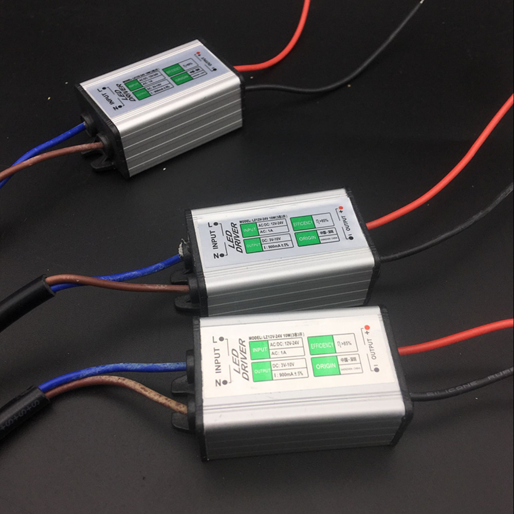 8-12 x 1 vatios Transformador LED fuente de alimentación transformador 230v//24v LED Driver transfo