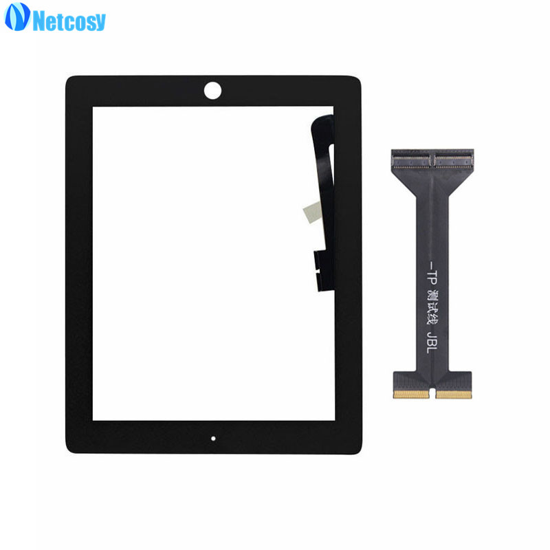 Netcosy For ipad A1403 A1416 A1430 A1458 A1459 A1460 Touch Screen Digitizer Repair for iPad 3 & 4 touch panel & Test flex cable tablet touch flex cable for microsoft surface pro 4 touch screen digitizer flex cable replacement repair panel fix part