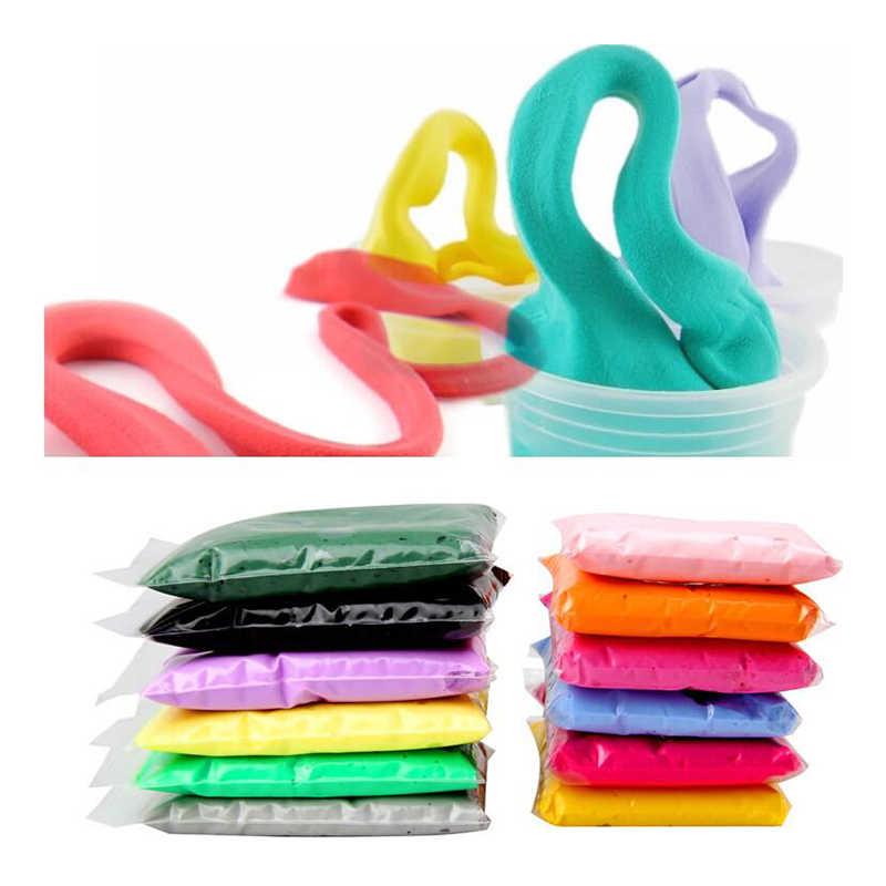 12/24/36 ชิ้น/ล็อตสี Air Drying Light 3 เครื่องมือของเล่น Plasticine Polymer Creative DIY ดินของเล่นเด็กผู้หญิงวันเกิดของขวัญ
