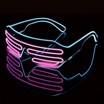 Stylish EDM LED Glasses