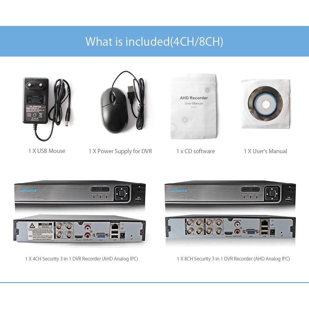 4Ch 8Ch 1080 P sécurité 3 en 1 AHD analogique IPC CCTV DVR NVR XVR enregistreur vidéo CCTV DVR RS485 contrôle coaxial P2P XMEye hybride DVR - 6