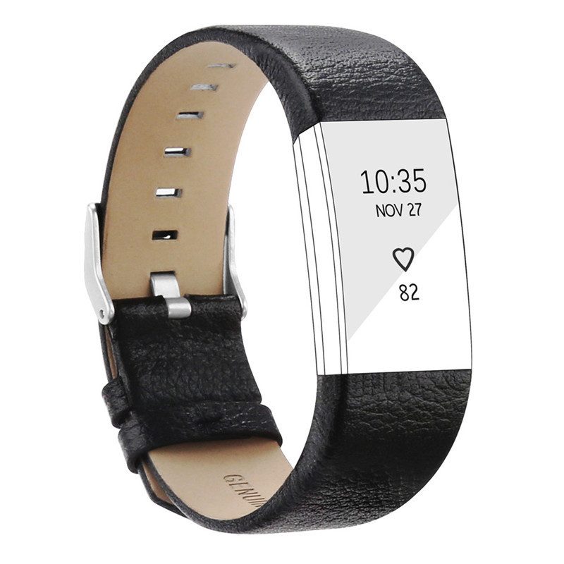 Replacement Band For Fitbit Charge 2 Heart Rate Wristband Bracelet Softness Belt Genuine Leather Strap For Fitbit Charge 2 replacement accessory metal watch bands bracelet strap for fitbit alta fitbit alta hr fitbit alta classic accessory band