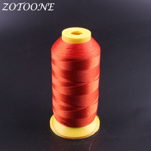 ZOTOONE Metallic Embroidery Red Threads Polyester For Sewing Craft Machine DIY Madeira Sewing Fabric Accessories For Clothes цена в Москве и Питере
