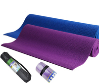 New Arrival 6mm Thick High Quality Non Slip Flexible Environmentally Friendly Skin Friendly Yoga Mat