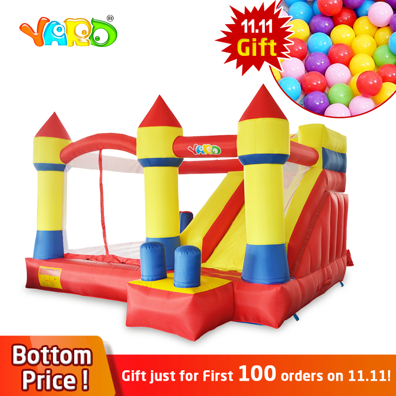 YARD Inflatable Trampolines Obstacle Course Slide Blowers Kids Inflatable Bouncer Jumping Castle Ship By Express Christmas Gift factory direct inflatable slide inflatable castle inflatable obstacle kyb 40