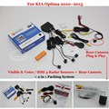 BIBI Alarm Parking System - Car Parking Sensors + Rear View Camera = 2 in 1 Visual / For KIA Optima 2010~2015
