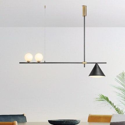 Candelabro LED moderno iluminación nórdica lámparas colgantes para  restaurante accesorios comedor luces novedosas sala de estar