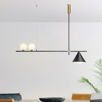 현대 LED 샹들리에 북유럽 조명 레스토랑 펜 던 트 램프 다이닝 룸 비품 거실 참신 매달려 조명|인테리어 라이트|   -