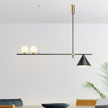 Modern LED chandelier Nordic lighting restaurant pendant lamps dining room fixtures living room novelty hanging lights