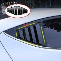 For Hyundai Elantra Avante 2016 2017 2018 Sedan ABS Rear Door Window shades Louver Frame Window Sill Molding Cover Sticker Trim