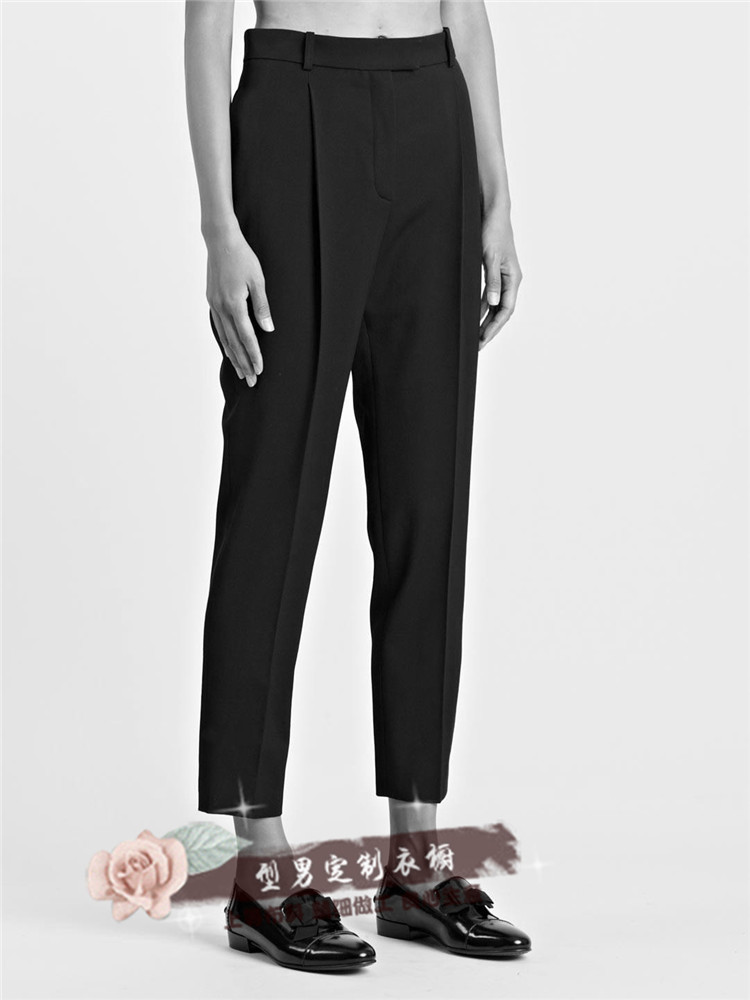 S-6XL!!2018 Same style men slim pants men and women with a pair of mens pants and pants hair stylist casual pants.