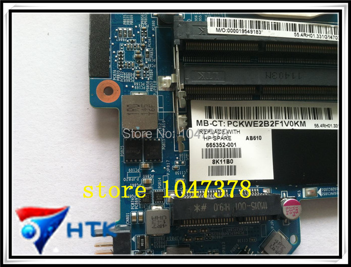 ФОТО Wholesale  for HP DV6 DV6-6000 665352-001 integrated motherboard 100% Work Perfect