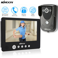 KKmoon 9'' Color LCD Video Door Phone Intercom Doorbell IR CCTV Camera 900TVL Unlock Monitor Rainproof Night View Home Security