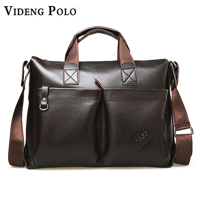 Quality Men Bags Casual Men Handbags Pu Leather Male Crossbody Bag Men s  Travel Messenger Bags Laptop 0bd54380a18de