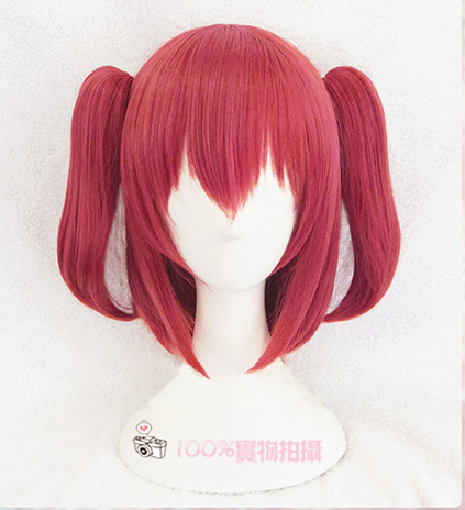Kurosawa Ruby Cosplay Wig Love Live! Sunshine!! Heat Resistant Sythentic Hair Cosplay Costume Wigs + Wig Cap
