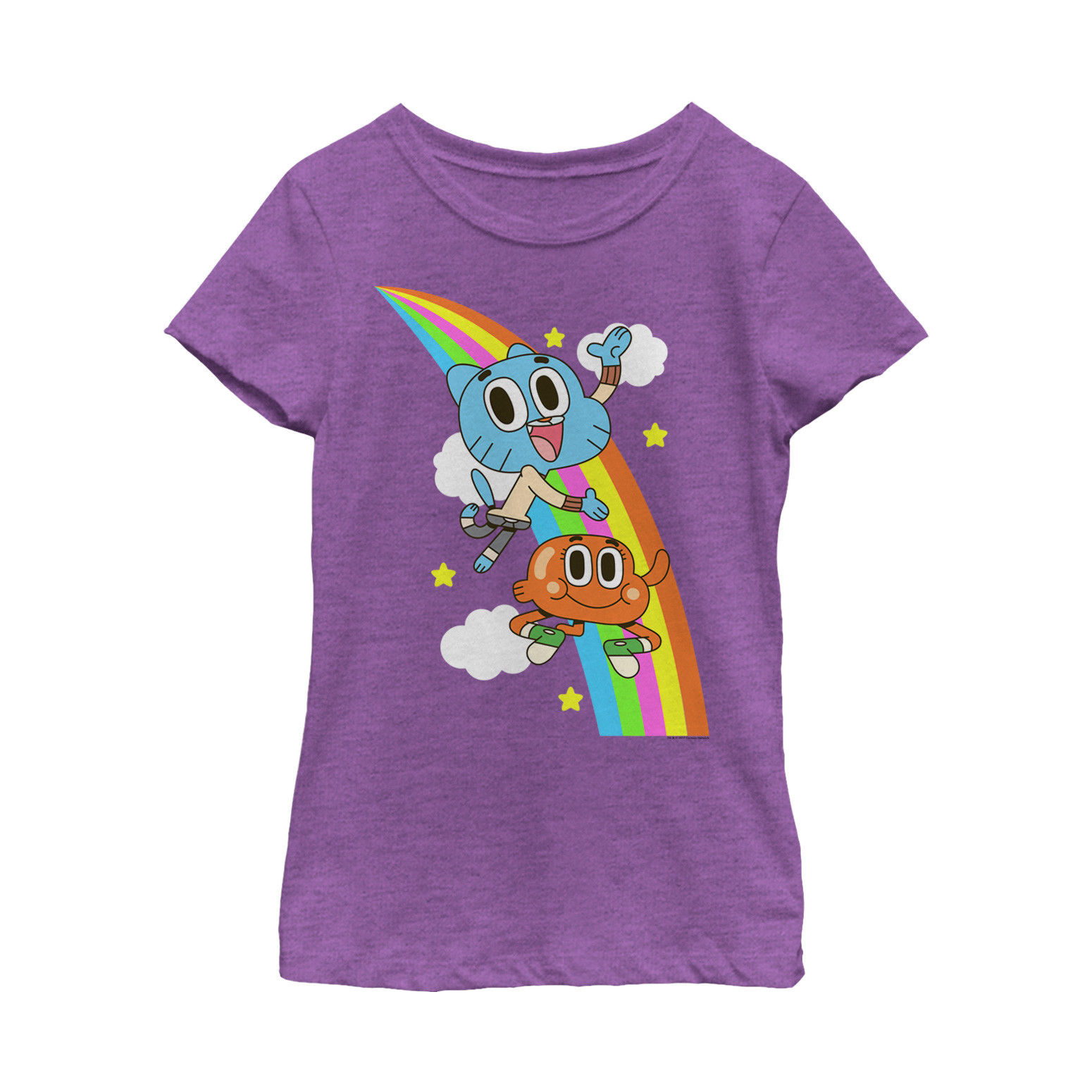THE AMAZING WORLD OF GUMBALL YOUTH CUSTOM T-SHIRT MORE COLORS