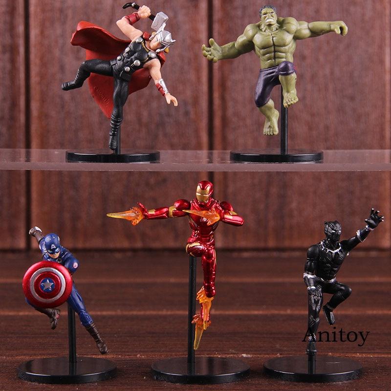putitto-series-font-b-marvel-b-font-super-heroes-thor-iron-man-hulk-captain-america-black-panther-action-figure-pvc-figures-toys-5pcs-set
