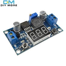 LM2596 Buck Step-down Power Converter Module DC 4.0~40 to 1.3-37V LED Voltmeter(China (Mainland))