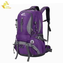 Túrázás Hátizsákok Szabad Knight Kültéri sportcipő Trekking Bag Utazótáskák Férfiak Vízálló Nők Kemping táskák Férfi hátizsákok